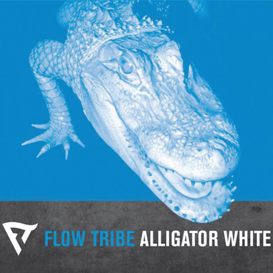 Alligator White CD - Flow Tribe - Hello Merch