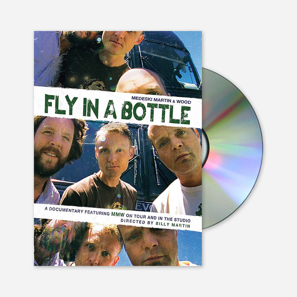 Medeski Martin & Wood - Fly In A Bottle DVD - Billy Martin - Hello Merch