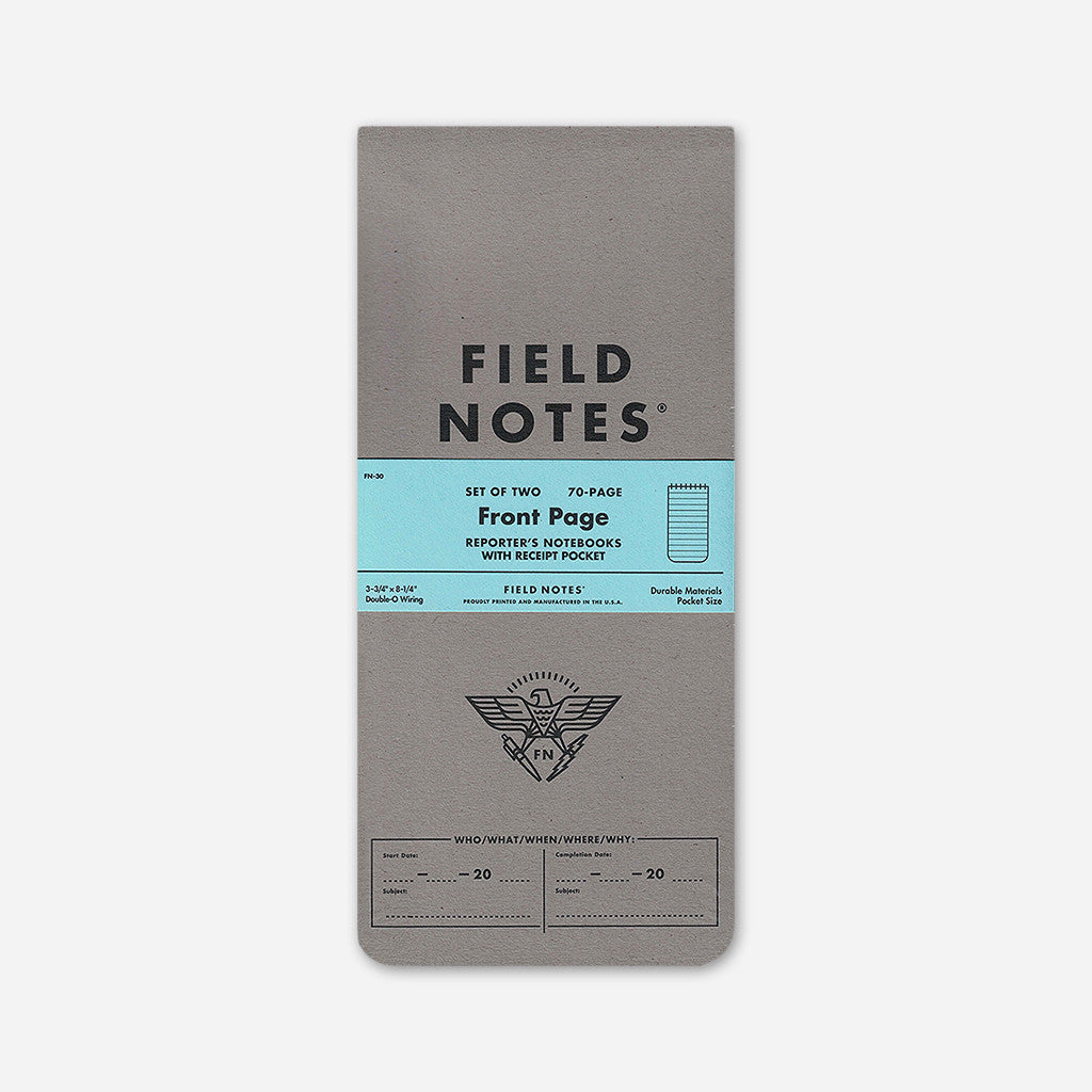 Front Page 2-Pack - Field Notes - Hello Merch