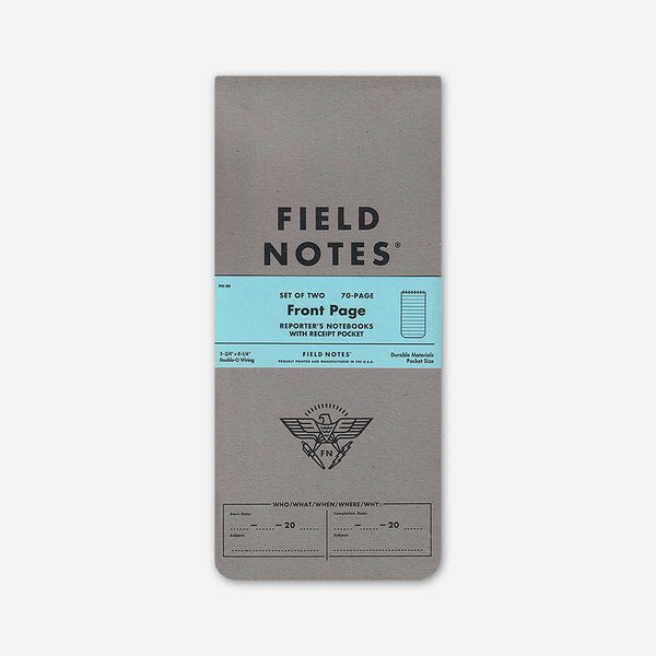 Front Page 2-Pack by Field Notes for sale on hellomerch.com