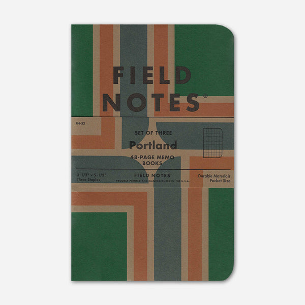 Portland Edition 3-Pack by Field Notes for sale on hellomerch.com