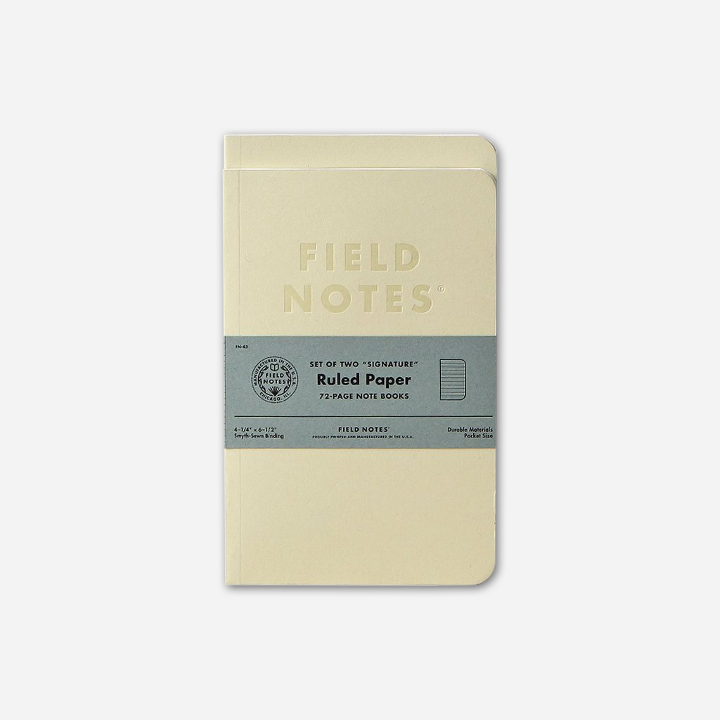 Signature Ruled 2-Pack - Field Notes - Hello Merch
