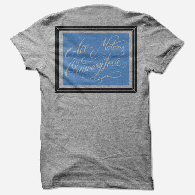 Frames Heather Grey Tri-Blend - La Dispute - Hello Merch