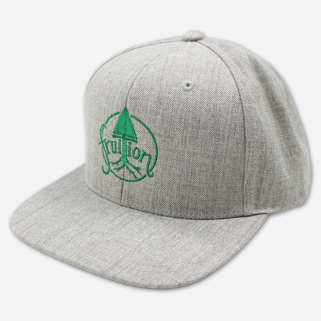 Tree Heather Grey Snapback Hat - Fruition - Hello Merch