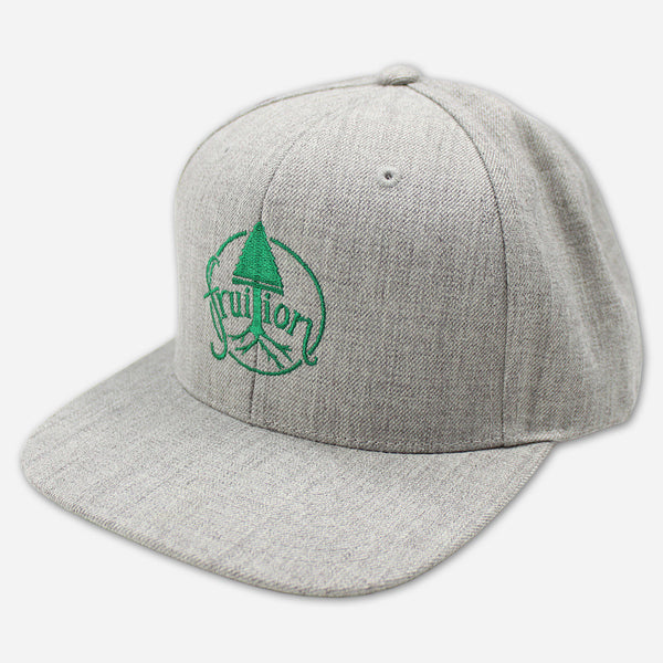 Tree Heather Grey Snapback Hat by Fruition for sale on hellomerch.com