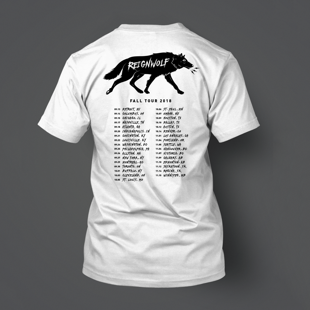 Fall Tour 2018 White T-Shirt