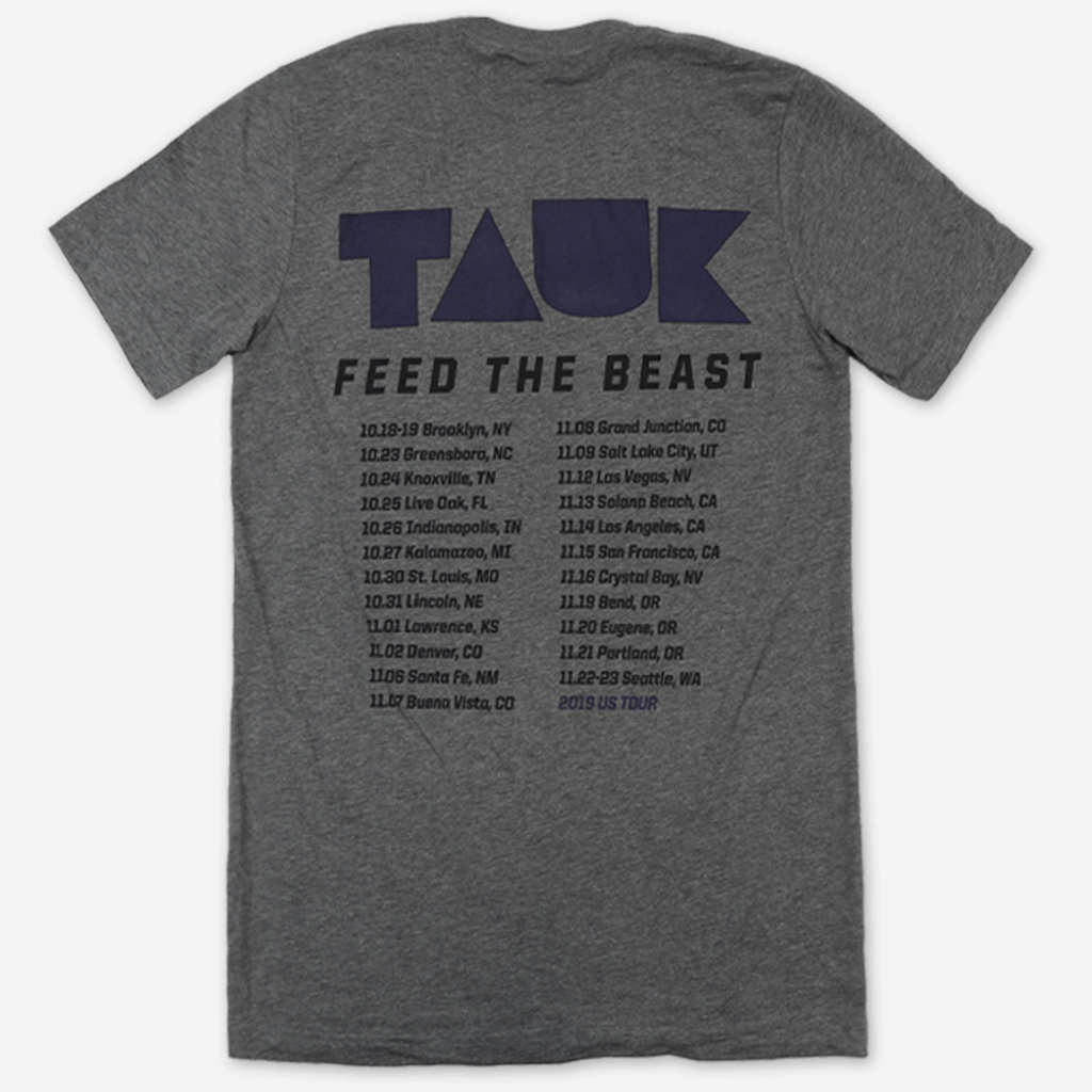 Feed the Beast Tour Heather Grey T-Shirt