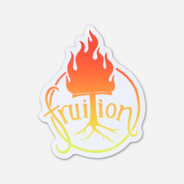 Fire Sticker by Fruition for sale on hellomerch.com