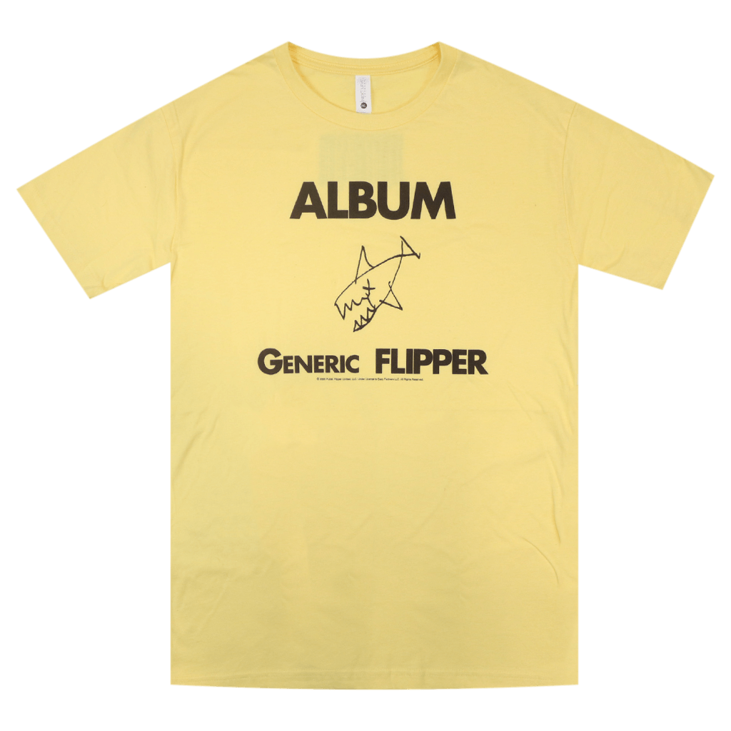 Album Generic Flipper Yellow T-Shirt
