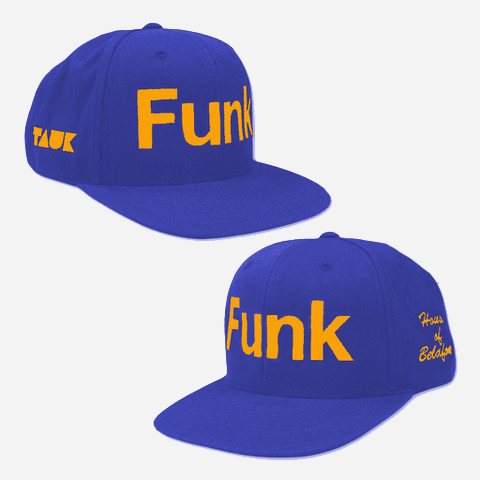 Funk Blue and Yellow Snapback Hat by TAUK for sale on hellomerch.com
