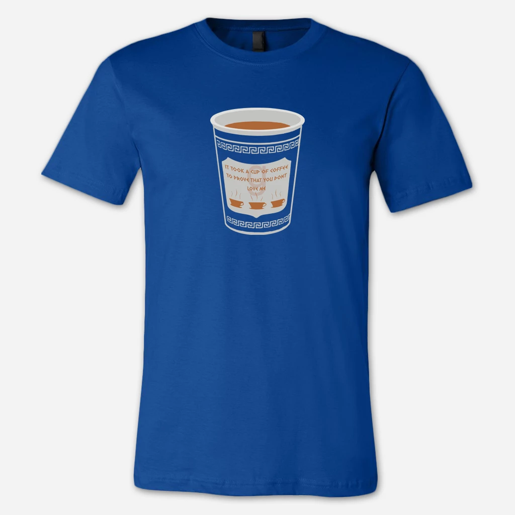 Cup of Coffee Royal Blue T-Shirt