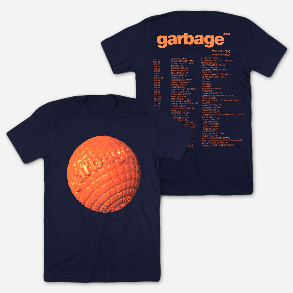 Globe Navy Tour T-Shirt