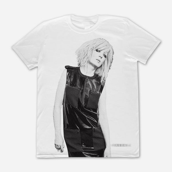 Shirley Photo White T-Shirt by Garbage for sale on hellomerch.com