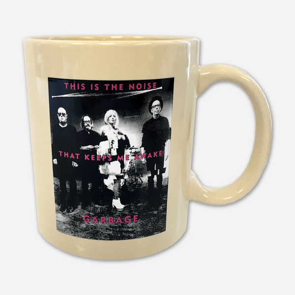 This Is The Noise Mug by Garbage for sale on hellomerch.com