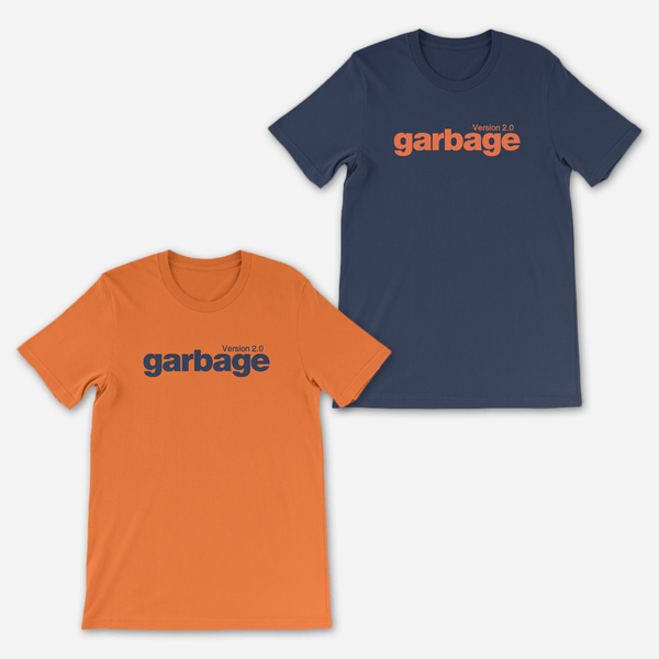Version 2.0 T-Shirt by Garbage for sale on hellomerch.com