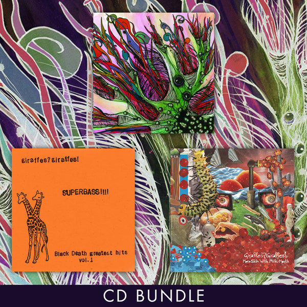Giraffes? Giraffes! CD Bundle by Giraffes? Giraffes! for sale on hellomerch.com