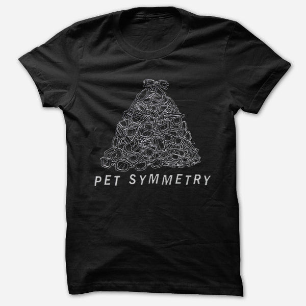 Glasses Black T-Shirt by Pet Symmetry for sale on hellomerch.com