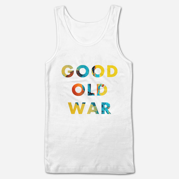 Simple BIBS White Tank Top by Good Old War for sale on hellomerch.com
