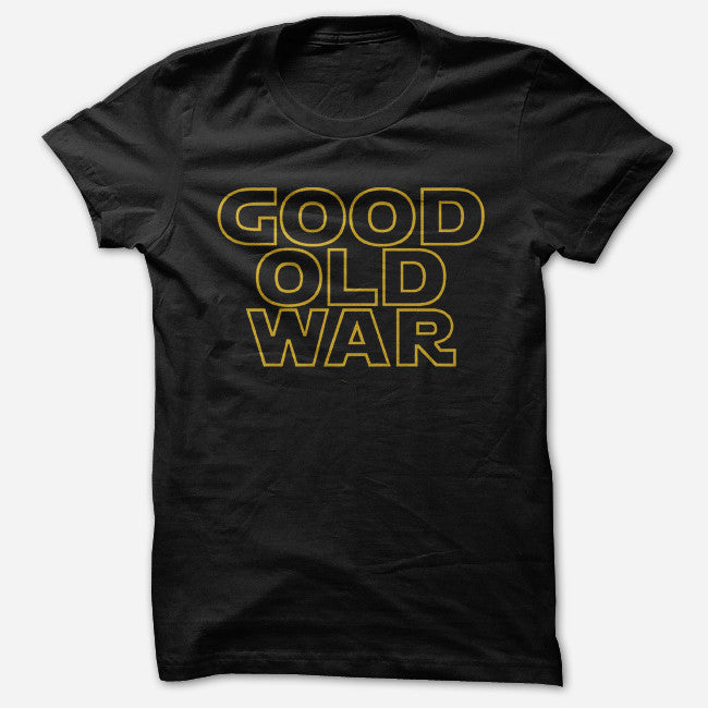 Good Old War Black T-Shirt - Good Old War - Hello Merch