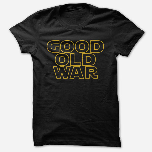 Good Old War Black T-Shirt by Good Old War for sale on hellomerch.com