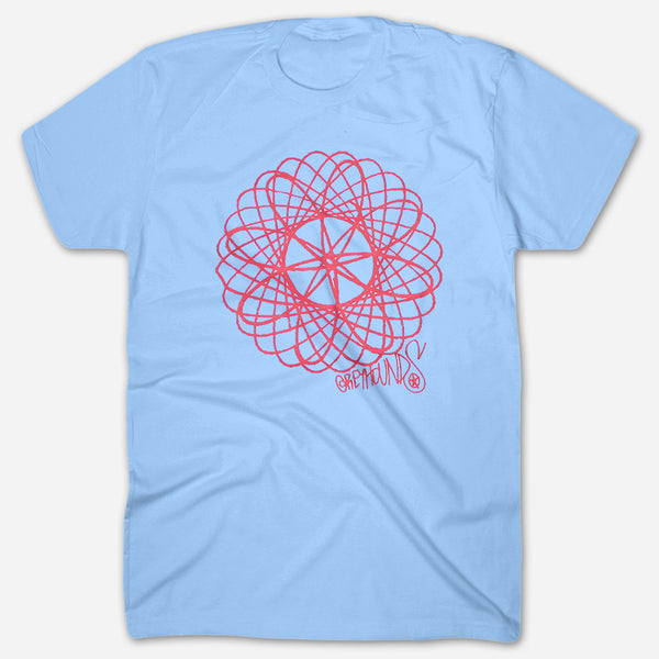 Spiro Light Blue T-Shirt by Greyhounds for sale on hellomerch.com