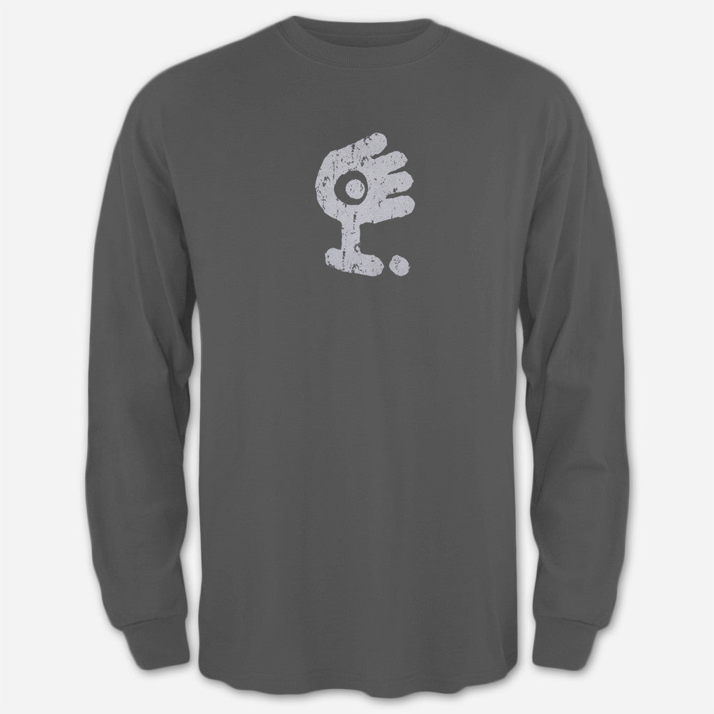 Distressed Classic Grey Long Sleeve - Medeski Martin & Wood - Hello Merch