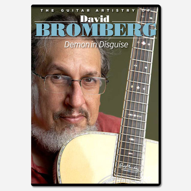 The Guitar Artistry of David Bromberg DVD - David Bromberg - Hello Merch