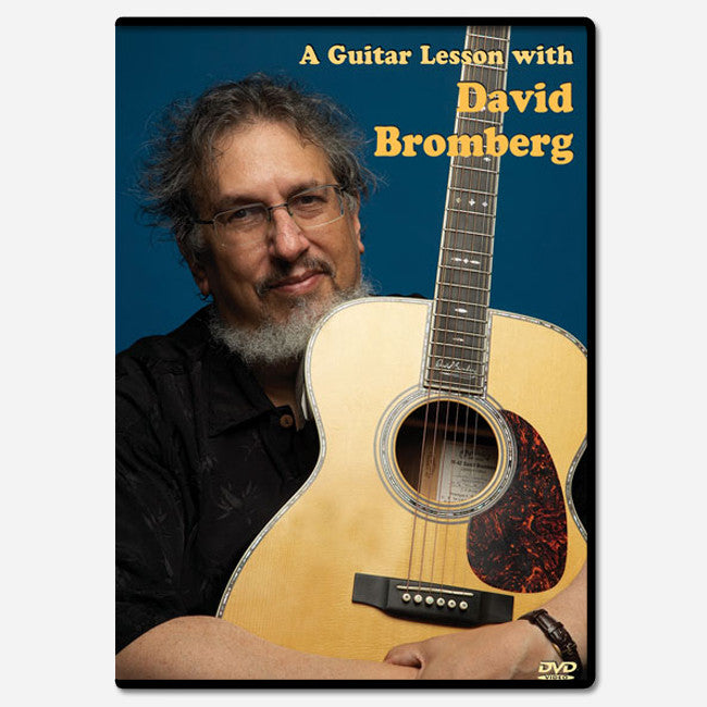 A Guitar Lesson with David Bromberg DVD
