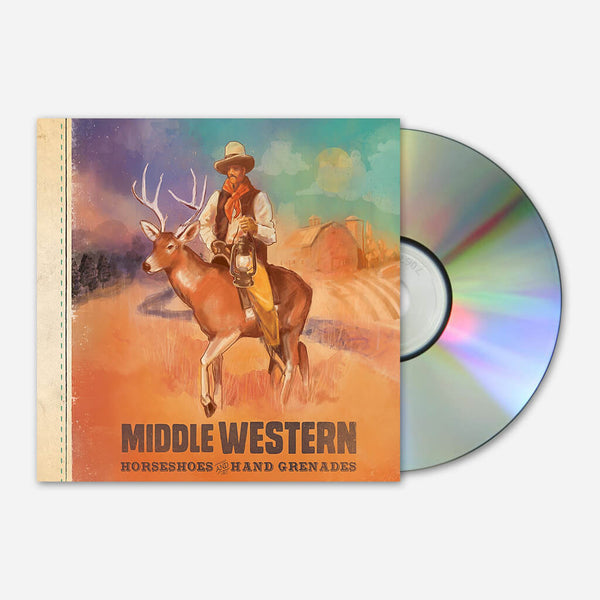 Middle Western CD by Horseshoes and Hand Grenades for sale on hellomerch.com