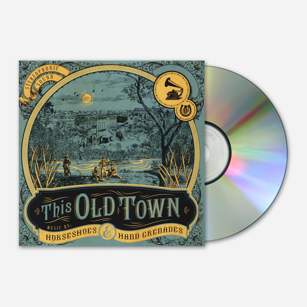 This Old Town CD by Horseshoes and Hand Grenades for sale on hellomerch.com