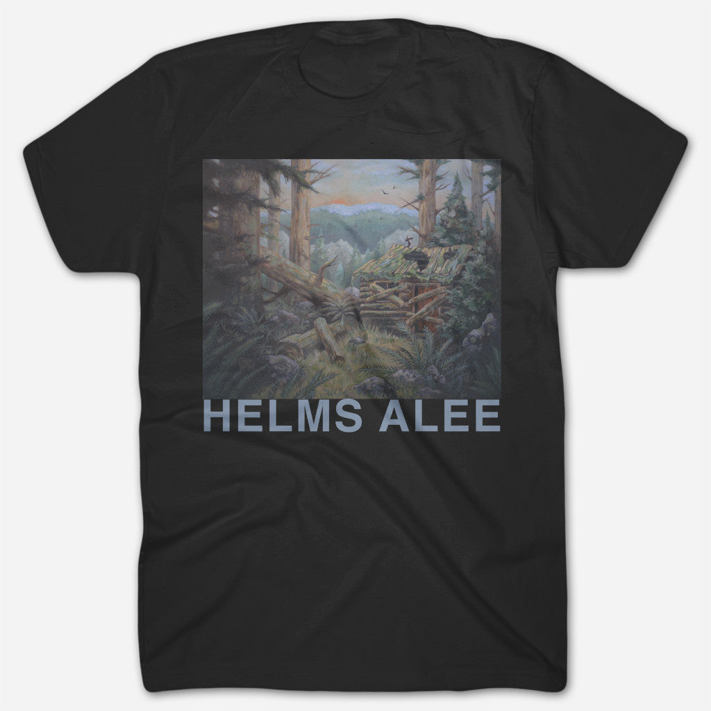 Cabin Black T-Shirt - Helms Alee - Hello Merch