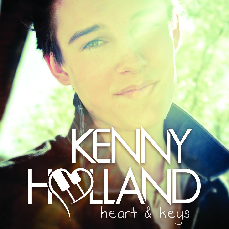 Heart & Keys Signed CD - Kenny Holland - Hello Merch