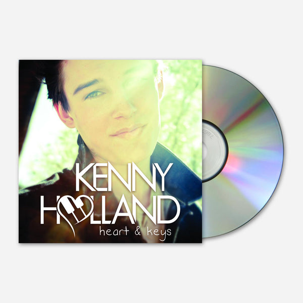 Heart & Keys Signed CD by Kenny Holland for sale on hellomerch.com