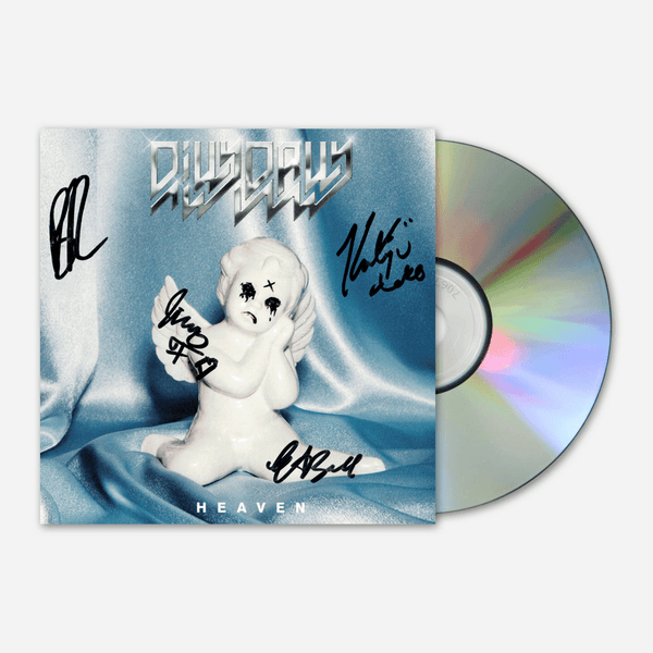 Heaven Signed CD by Dilly Dally for sale on hellomerch.com