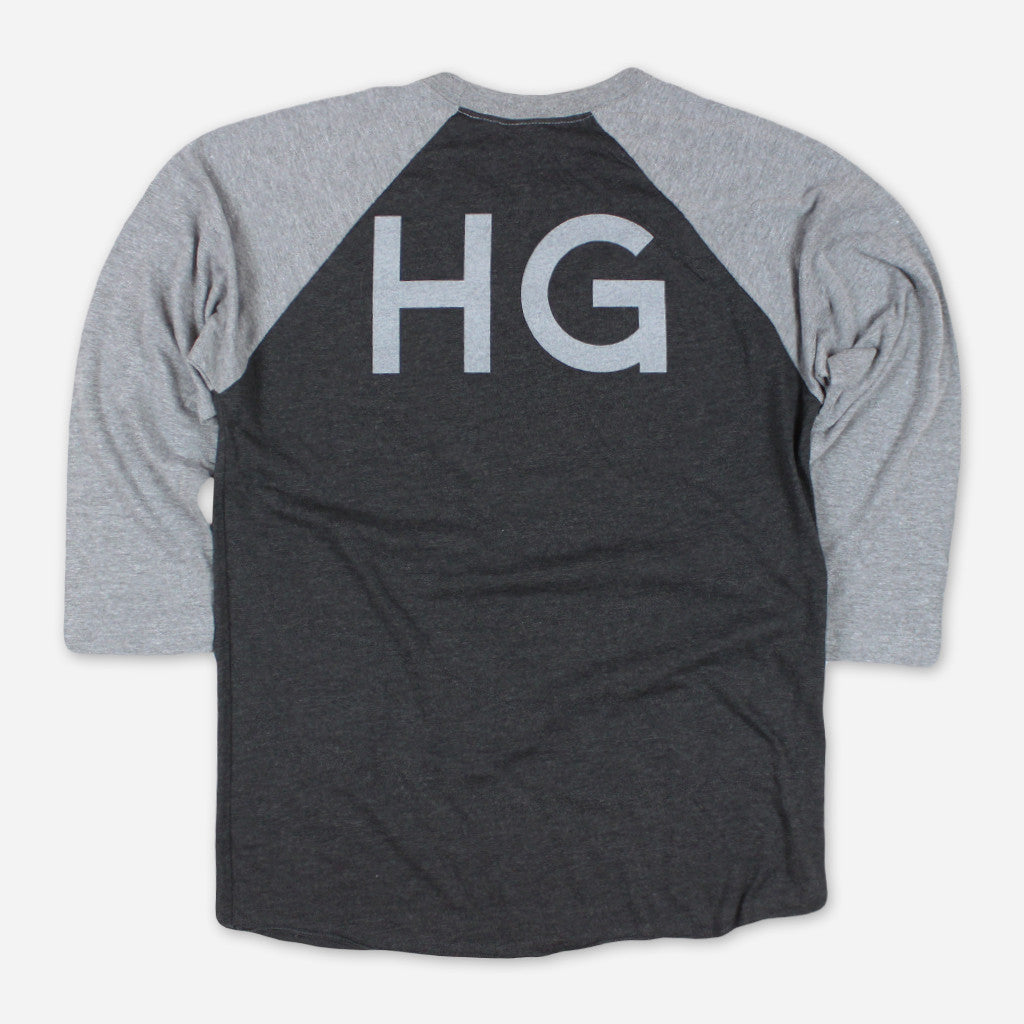 Handsome Ghost Tri-Blend Baseball T-Shirt - Handsome Ghost - Hello Merch