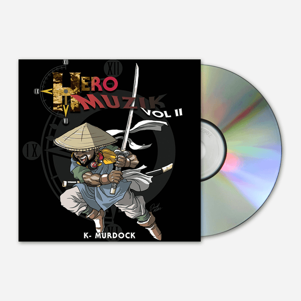 Hero Muzik Volume 2 CD by Mega Ran for sale on hellomerch.com