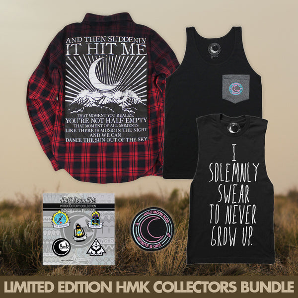 Limited Edition HMK Collectors Bundle by Half Moon Kids for sale on hellomerch.com