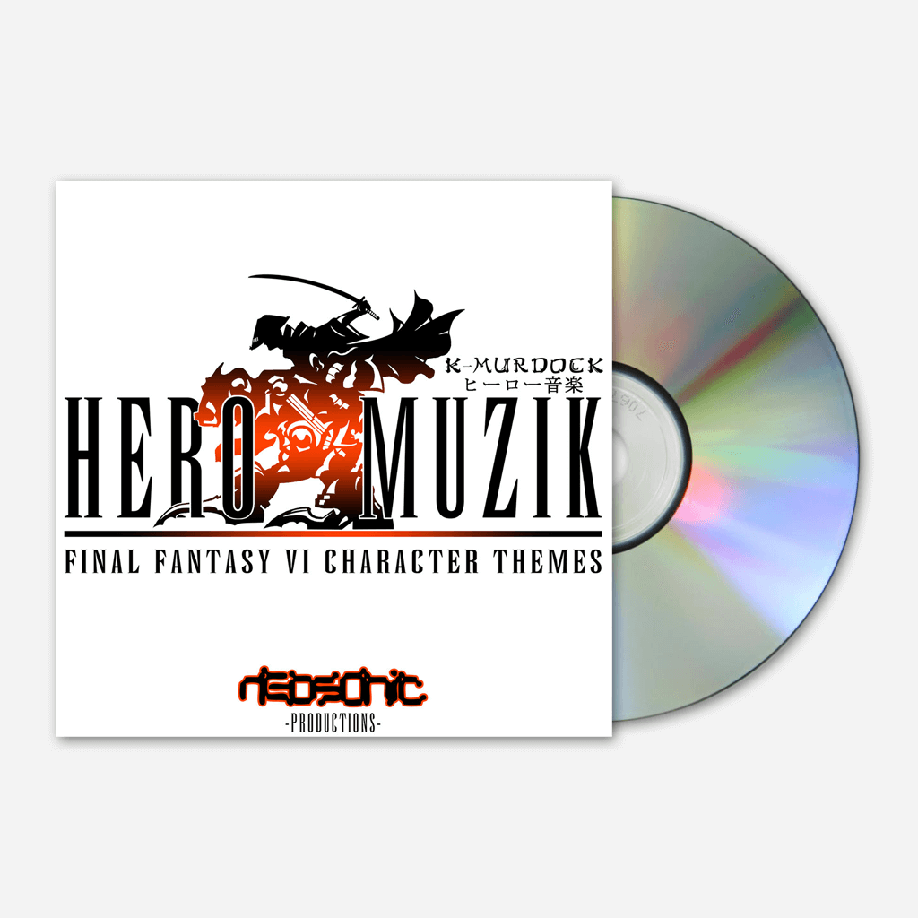 Hero Muzik CD - Mega Ran - Hello Merch