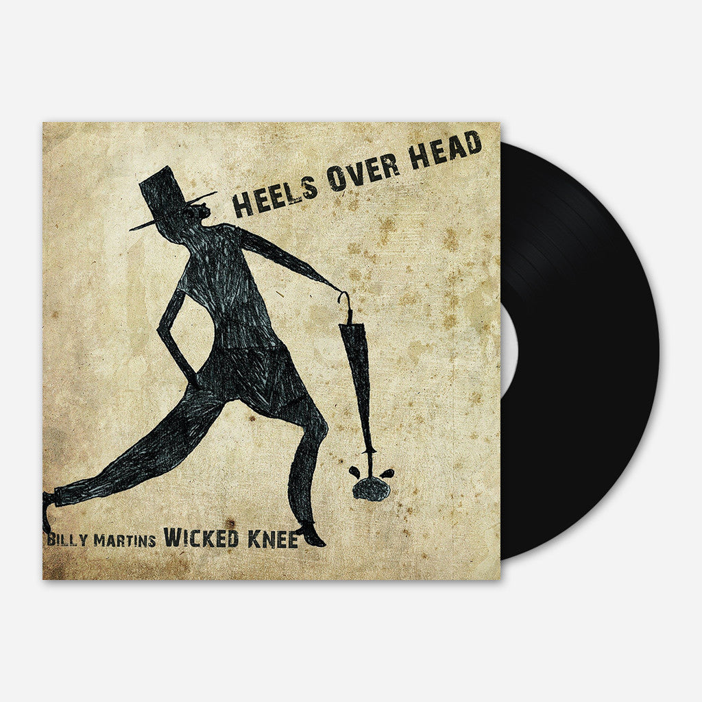 "Wicked Knee - Heels Over Head 12"" Vinyl"