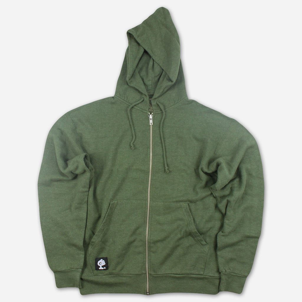 Evolution Green Zip Up Hoodie - Medeski Martin & Wood - Hello Merch