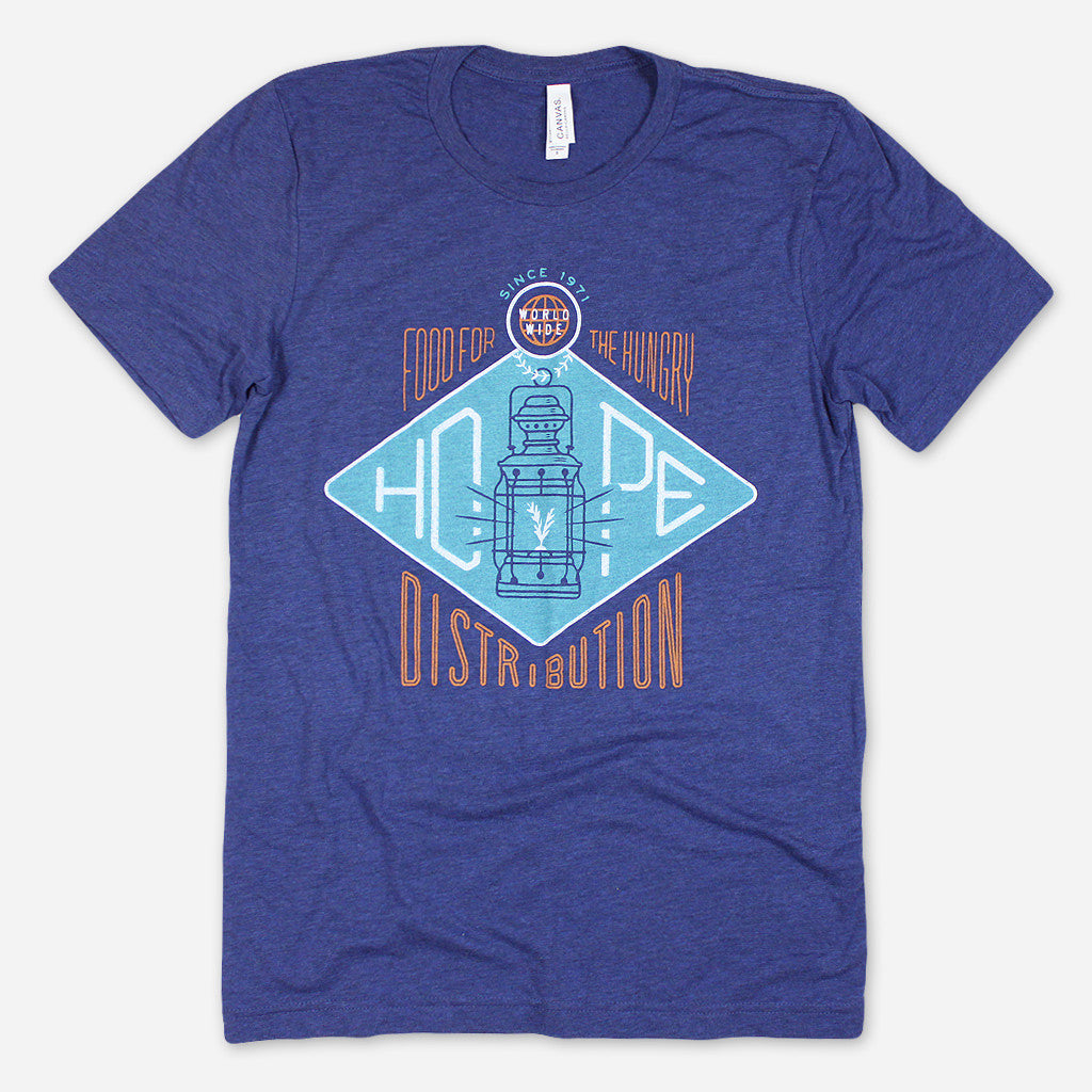 Hope Distribution Navy Tri-Blend