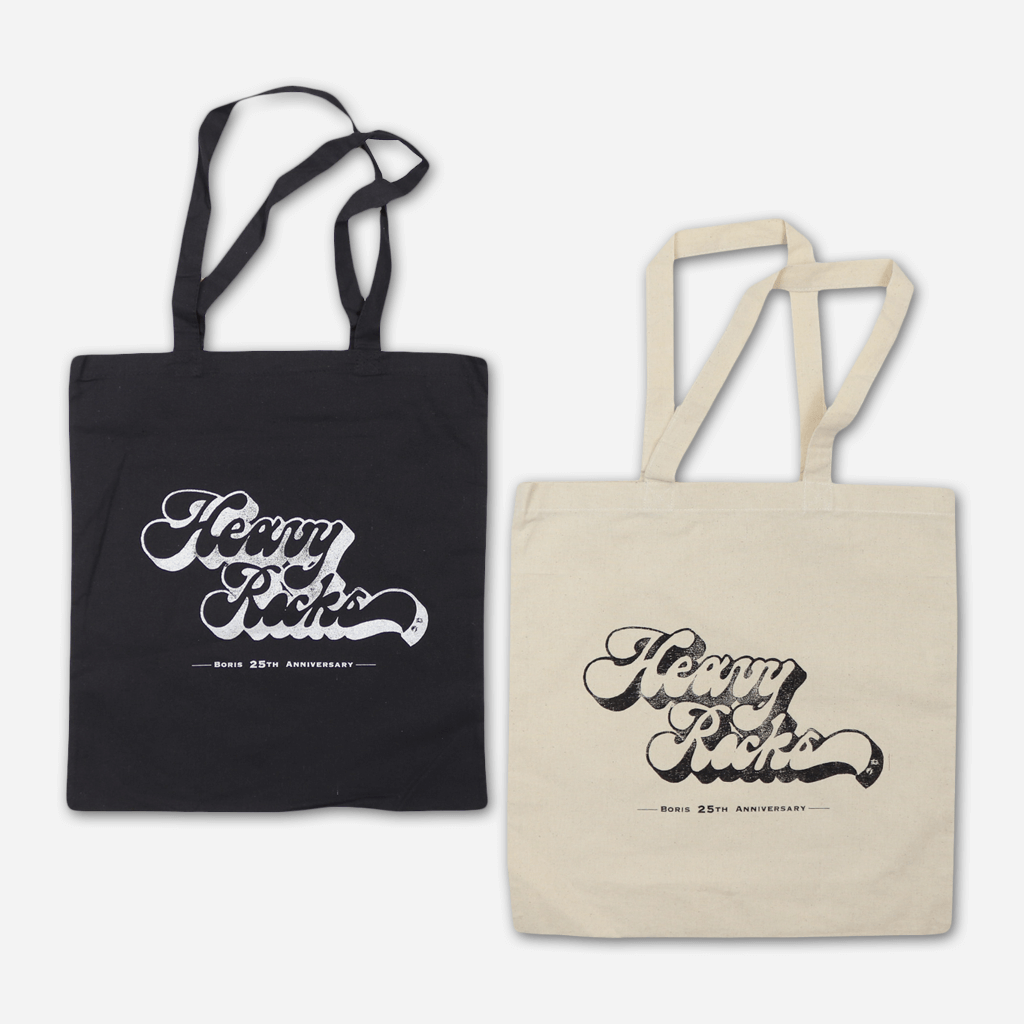 Heavy Rocks 25th Anniversary Totes