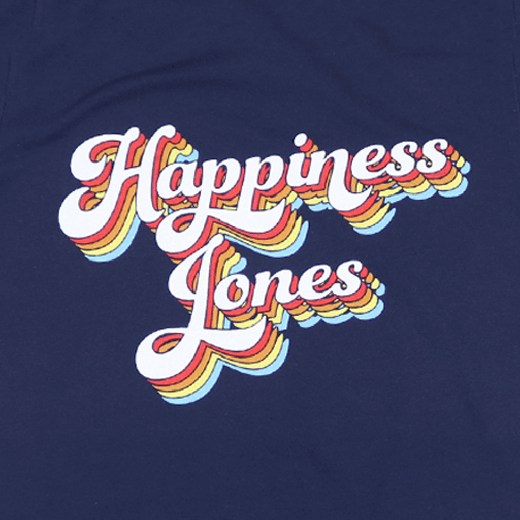 Happiness Jones Navy T-Shirt