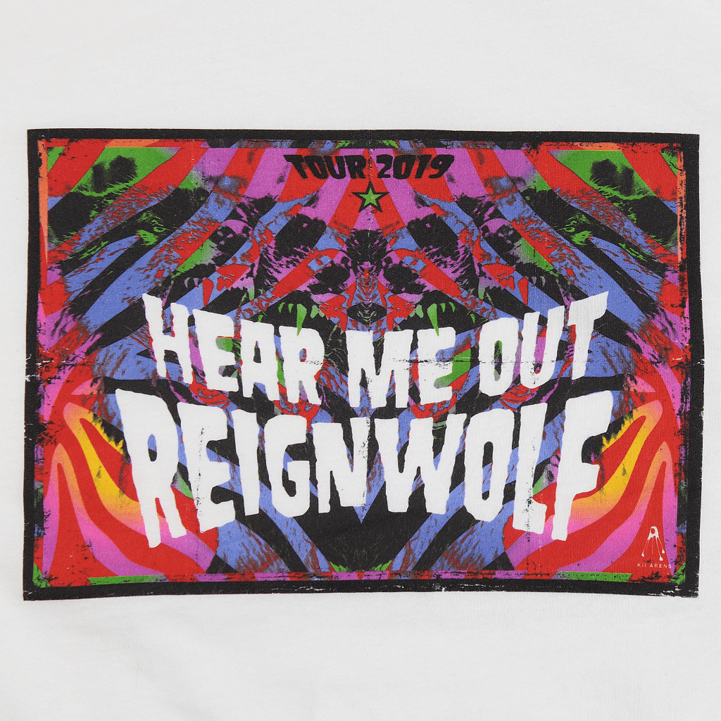 Hear Me Out Poster White T-Shirt