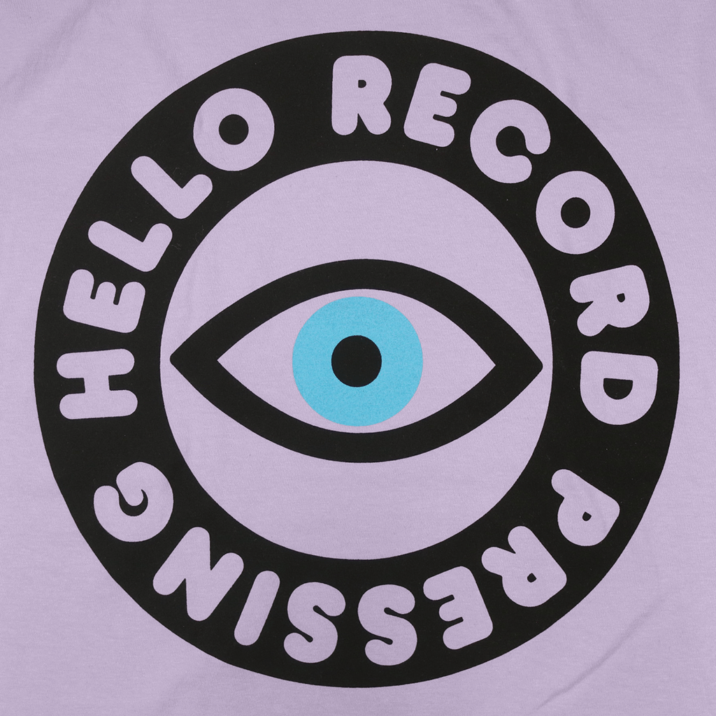 Hello Record Pressing Orchid T-Shirt