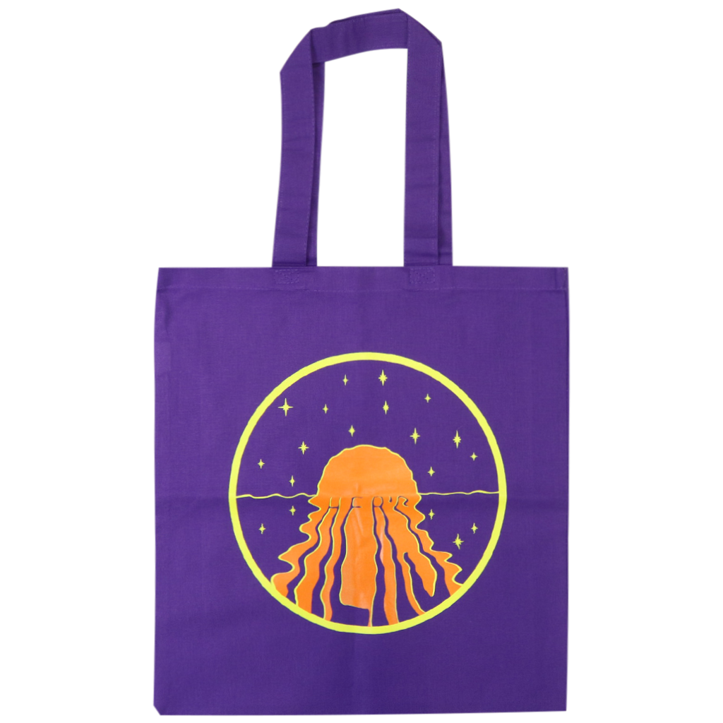 Sunset Purple Tote Bag