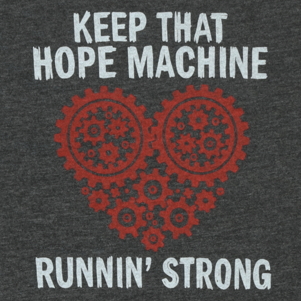 Hope Machine - Toddler's Heather Grey T-Shirt