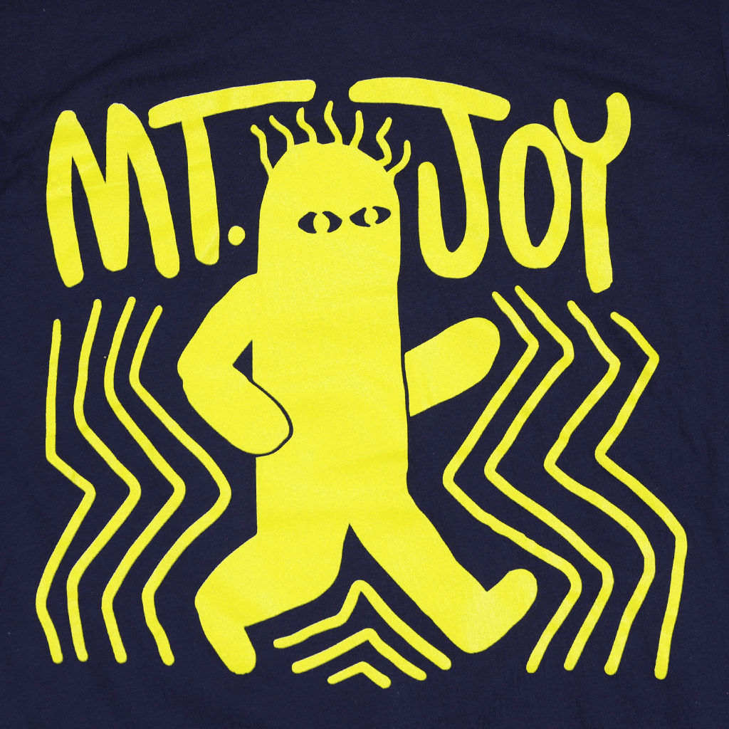 Hot Dog Monster Navy T-Shirt