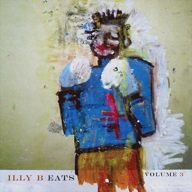 illy B Eats: Volume 3 CD - Billy Martin - Hello Merch