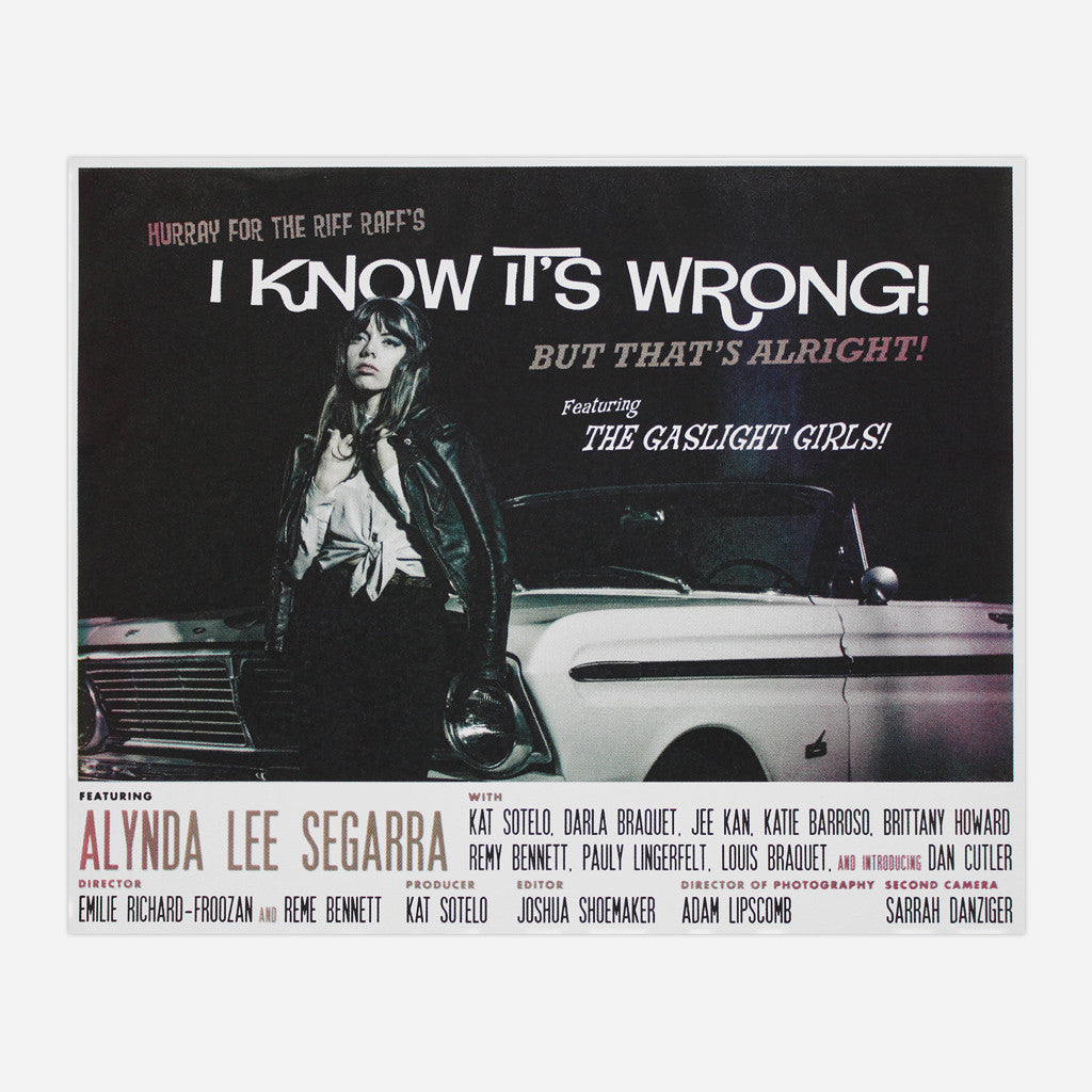 I Know It's Wrong Poster
